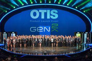 Seine neue Aufzugsgeneration stellte Otis Ende Juni im Berliner Friedrichstadt-Palast vor<br />
