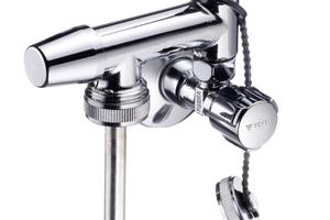 """Als Probenahme-Ventil für die Nachrüstung erleichtert """"Schell Probfix"""" die sichere Installation unter Waschtischen erheblich"""