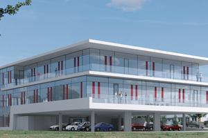 Eigenes Vorzeigeprojekt: Das neue Verwaltungsgebäude der Nagolder Planungsgruppe Schnepf heizt und kühlt komplett mit erneuerbaren Energien und leistet damit einen aktiven Beitrag zur Energiewende