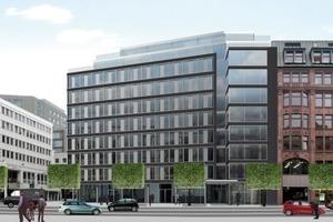 Rendering Bauvorhaben Opern Plaza in Hamburg<br />