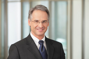 Ludwig Steinbauer, Vorsitzender der Geschäftsführung von Strabag PFS
