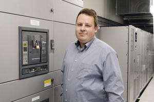 Markus Patzke ist Facility Manager in einem der größten Rechenzentren Frankfurts