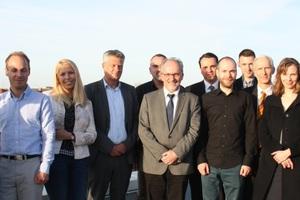 FEEL Real Estate-Forscherteam mit Vertretern der Partnerunternehmen