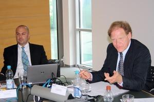 (v.l.n.r.) Wilfried Schmahl, Silvia Wanner und Hansjörg Cohnen<br />