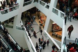 Das Westside wird mit seinen vielfältigen Freizeit- und Einkaufsmöglichkeiten intensiv genutzt<br />