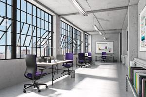 Wie sieht es wohl aus...das Büro der Zukunft?