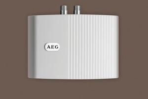 """Die Kleindurchlauferhitzer """"MTE 650"""" befinden sich in jeder Teeküche und unter jedem Handwaschbecken in den WC-Bereichen, Behinderten-WCs, Service-, Putz- und Technikräumen"""