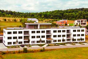 Aktuelles Beispiel für die innovative Holz-Bauweise ist der klar strukturierte Neubau der Firma ZinCo in Nürtingen