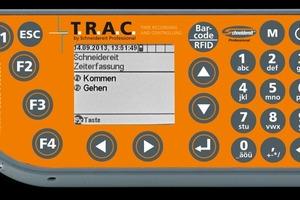 Die kleinste Lösung des Portfolios stellt der T.R.A.C. Barcodescanner Objekt dar