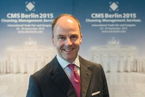 Dr. Christian Göke, Vorsitzender der Geschäftsführung der Messe Berlin GmbH