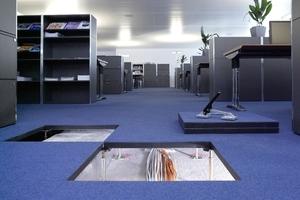 Systemböden liefern eine Antwort sowohl heute wie auch zukünftig, auf die Fragen in Folge einer wachsenden Vernetzung von Informationen und Medien in Arbeitswelten von Büros bzw. Verwaltungen
