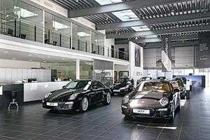 In den zurückliegenden 16 Jahren wurden von der Hahn Gruppe über 70 Mio. € in Um-, Aus- und Neubauten der Händlerbetriebe für die Marken Volkswagen, Audi und Porsche investiert