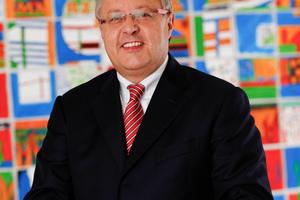 Otto Kajetan Weixler, Vorstandsvorsitzender GEFMA e.V. und Vorsitzender der Geschäftsführung Bilfinger HSG Facility<br />Management GmbH