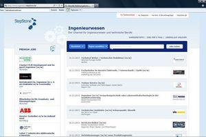 Unter den rund 2500 (!) deutschsprachigen Jobbörsen gibt es viele<br />branchen- oder berufsspezifische Adressen...