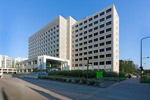 In Frankfurt hat die Wisag ein altes Bürohaus revitalisiert. In dem ehemaligen IBM-Gebäude ließ sich sogar das unternehmenseigene Rechenzentrum optimal einrichten
