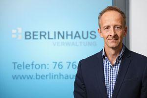 Gerhard Stoppel ist bei der Berlinhaus Verwaltung GmbH zuständig für Organisation und interne Projekte