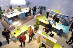 Wie wird das Arbeitsumfeld der Zukunft aussehen? Als internationale Leitmesse für moderne Arbeitswelten zeigt die Orgatec in diesem Jahr neueste Trends und Produkte