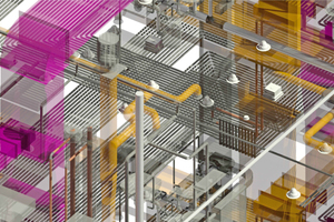 Kollisionskontrollen gehören zu den am häufigsten genannten Vorteilen des BIM-Gebäudemodells