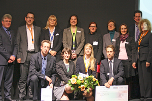 Die Sieger des ersten ipv-Autorenpreises - die FM-Impulsgeber 2014 - mit Jury-Mitglieder