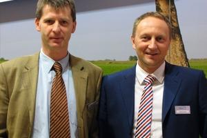 Bereichsleiter Vertrieb und Prokurist bei der BayernFM, Thomas Aumer (rechts im Bild), wurde zum Geschäftsführer der BayernCS ernannt. Stefan Kohlhepp (links im Bild) muss jedoch nicht auf seinen Vertriebsleiter verzichten, da Aumer diese Position behält<br />