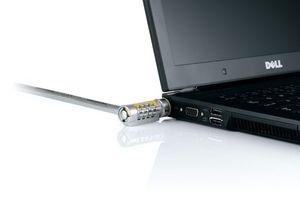 Auch das ist IT-Security: ein Schloss am Notebook/Netbook oder PC beugt Hardware-Diebstahl vor