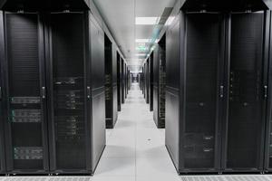 Blick auf die Server