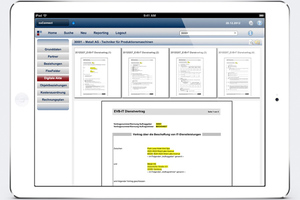 Mobile Lösungen bringen Inhalte aus dem in SAP-Systeme integrierten Vertragsmanagement in Echtzeit auf Smartphones und Tablet-PCs