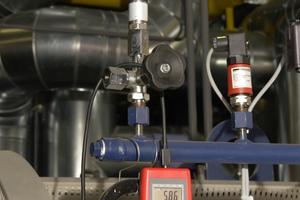 Intensive Messungen erfassen Temperaturen, Witterung und Gasverbrauch und ergaben eine garantierte Einsparung von 6 %