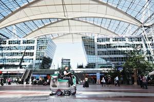Auch am Flughafen München ist die Dr.SasseAG tätig<br />