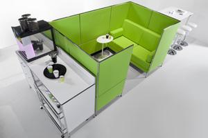 Coffeestation und Dialounge in einem