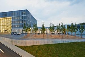 """Am """"Platz der Impulse"""" bündelt Enervie ihre bisherigen acht Hagener Standorte. Der Neubau entspricht dem Gold-Standard des LEED-Gebäudeklassifizierungsprogramms"""