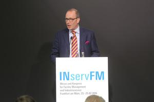 Arnulf Piepenbrock, Geschäftsführender Gesellschafter der Piepenbrock Unternehmensgruppe, ist neuer Vorsitzender des INservFM-Ausstellerbeirats.