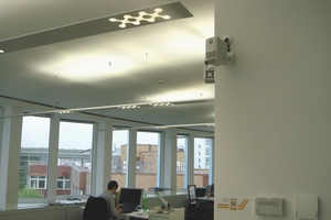 """Das Luftbefeuchtungssystem """"NanoFog Evolution"""" im Workspace Innovation Lab <br />"""