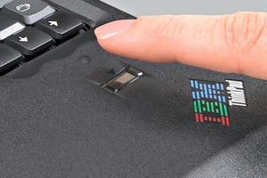 Trägt auch zur IT-Sicherheit bei: ein Fingerprint-Sensor verhindert unautorisierten PD-/Datenzugriff <br />