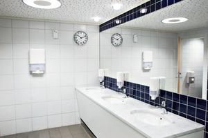 Die beste Prävention gegen Waschraum-Vergehen sind ordentlich geführte Räume<br />
