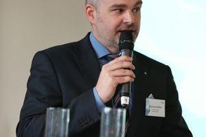 Jörg Hossenfelder, Geschäftsführernder<br />Gesellschafter der Lünendonk GmbH, gab den Teilnehmenr einen Überblick über Entwicklungen und Herausforderung im FM