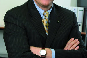 Manfred Schmitz, Geschäftsführer der Axima GmbH freut sich über den nun größten TGM-Auftrag