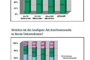 """Grafik 2: bso-Studie 2012 - Befragung von 603 Unternehmen in D/A/CH im Mai/Juni 2012 mit dem Titel """"New Work Order"""""""