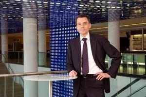 Frank D. Masuhr, Leiter des Unternehmensbereichs Facility Services der Alba Group<br />